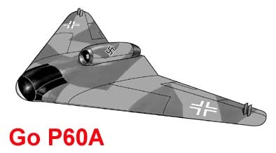 Go P.60A Fighter Project
