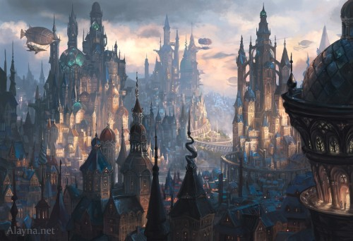 St. Levin, Steampunk City