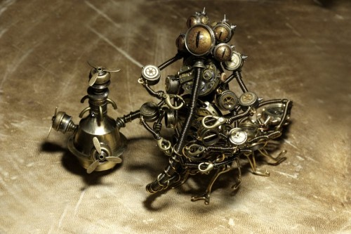 Steampunk Alice Caterpillar 2