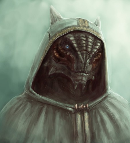 Argonian fan art